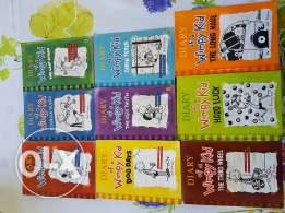 Diary of the wimpy kid collection 1-9 books