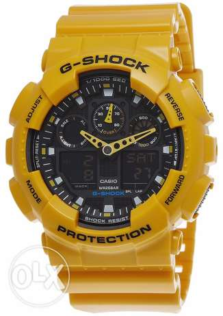 G Shock GA-100A-9ADR For Sale. Unused like New Great Price