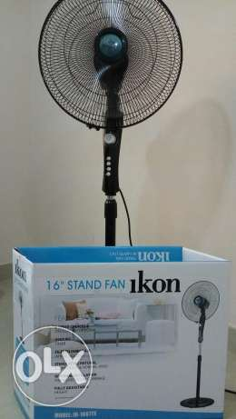 Ikon stand fan . Only 4 months old( Excellent condition)