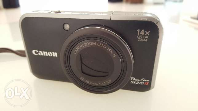 CANON Power Shot SX210 IS Camera مسقط -  1