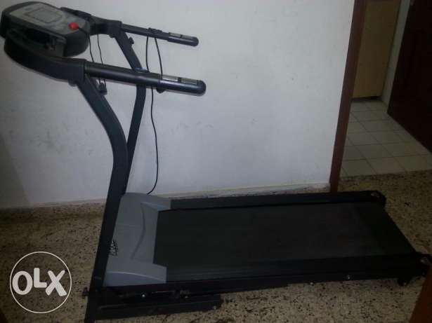 Tread Mill with Time, Speed,Distance,Calories,Pulse, Body Fat & slope روي -  5
