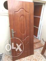 Steel Door with Frame used little For Sale