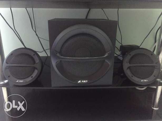 Two in one sound system 35 W , F&D
