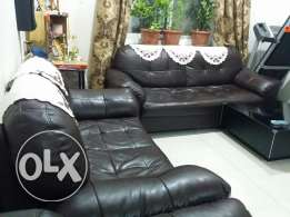 Sofa 3+2,dining table,cooking range