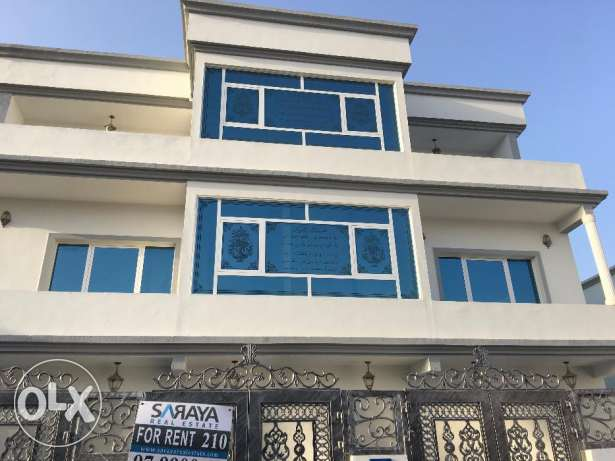 part of villa for rent in almawaleh south for 500 rial