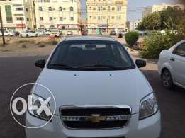 Aveo White Colour excellent condition