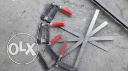 4 pc F clamps for sale