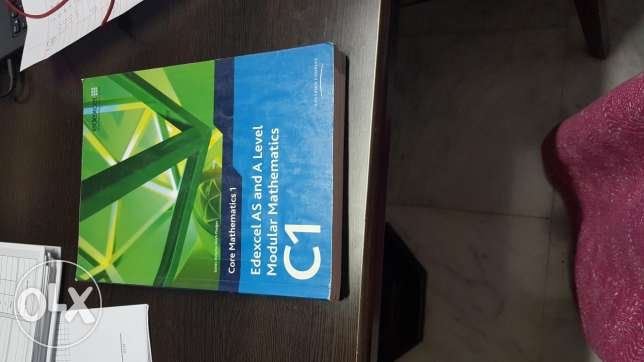 Edexcel C1 maths AS level textbook