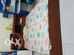 Raha matress with wooden cot for sale