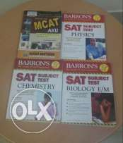 SAT and MCAT Books