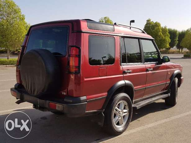 LAND ROVER DISCOVERY 2003 double roof full option with leather seats مسقط -  4