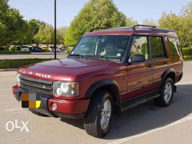 LAND ROVER DISCOVERY 2003 double roof full option with leather seats مسقط -  2