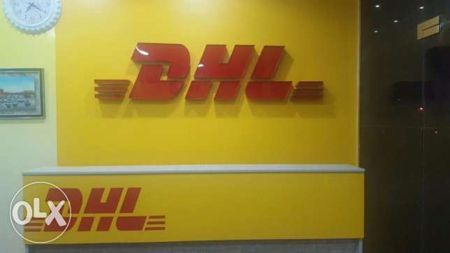 International Franchise DHL Express Counters for Sale