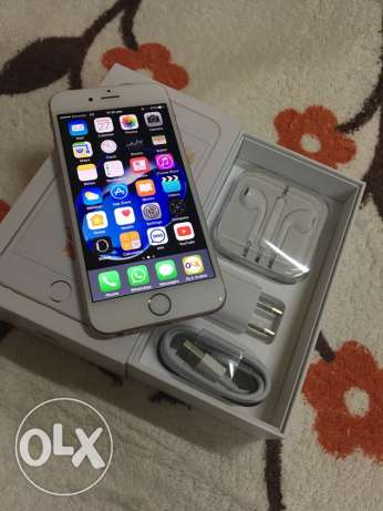 Apple iPhone 6s 16gb Rose Gold with all accessories