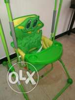 Baby swing and chair