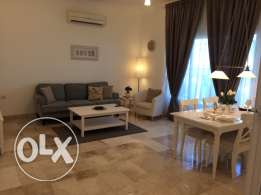 1 BHK Fully Furnished elegant flat beside the beach in Azaiba