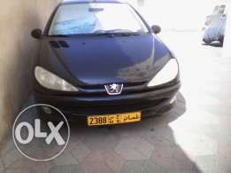 Good offer peugeot 206 car with fancy number 2,3,8,8