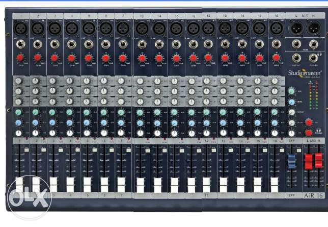Powered Mixer 18 channel مسقط -  1