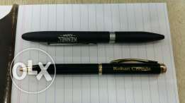 Name pen as gift and advertising male