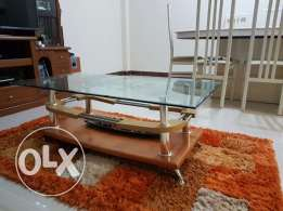 Glass Top Centre table