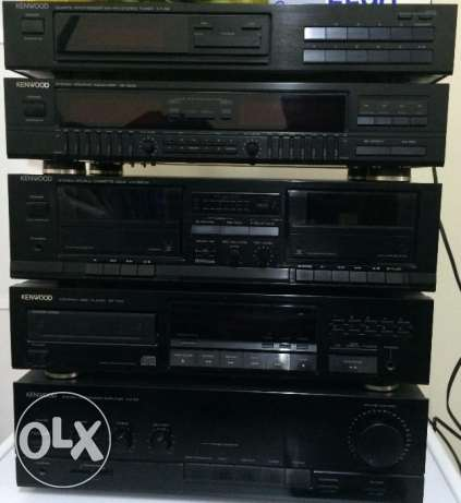 KENWOOD HiFi Audio System + Speakers