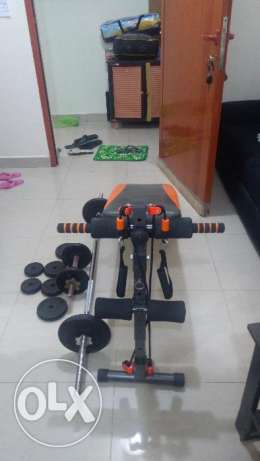 Fitness set,rarely used