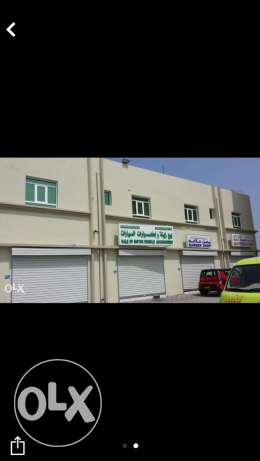 shop for rent near city center al mawalih السيب -  1
