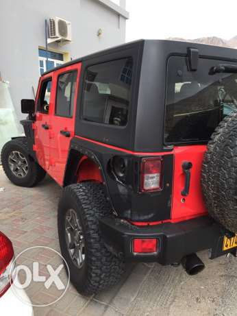 2014 Jeep Wrangler unlimited custom مسقط -  2