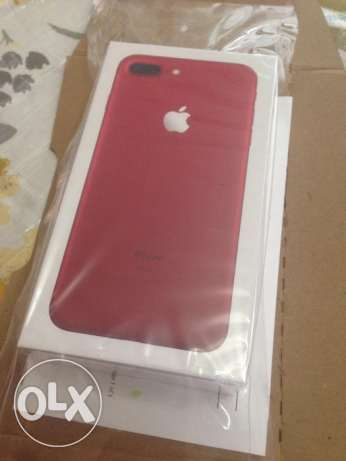NEW Apple iPhone 7 Plus RED Special Edition 128GB Unlocked