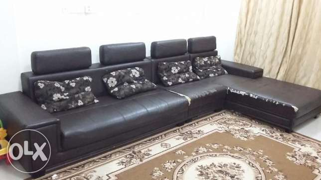 6 seater Sofa set مسقط -  1