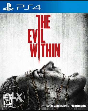 evil within ps4 cd