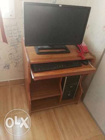 Wooden computer table sale urgently