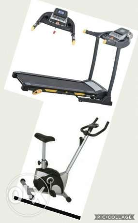 OFFER Treadmill and cycle