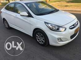 Hyundai 2013 accent full automatic 1.6 free accident oman agency milea