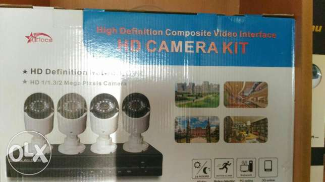CCTV security system.