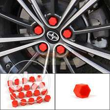 20pcs Silicone Car Wheel Nuts Covers مسقط -  5