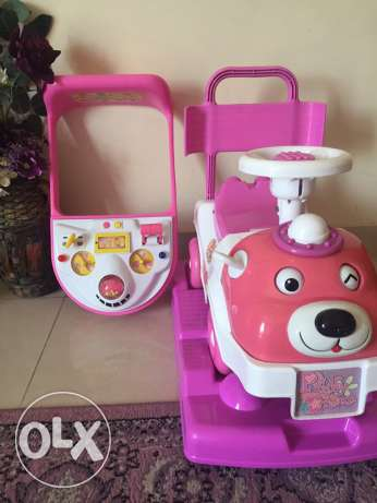 kids car from babyshop three in one روي -  3