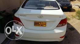 Accent..2016 model 1.6..low mileage..14000 km only