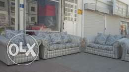 Re furnished sofa for sale 7 seater