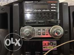 panasonic Cd and Casette Player for Sale