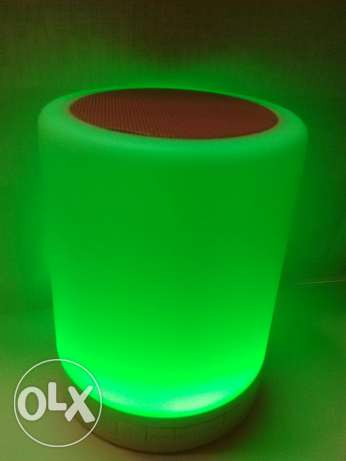 Touch lamp bluetooth speaker السيب -  4