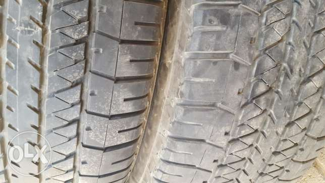 Tyre for Nissan petrol used 70000 km only