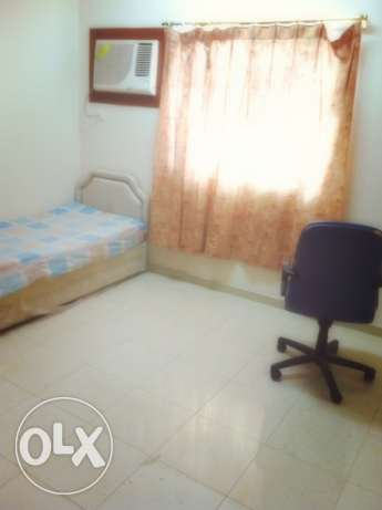 Furnished Room Available For Bachelor in Al Khuwair Prime Location