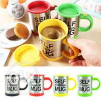 self stirring mug- battery operated