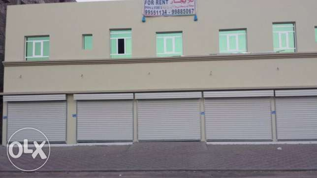 shop for rent near city center السيب -  1