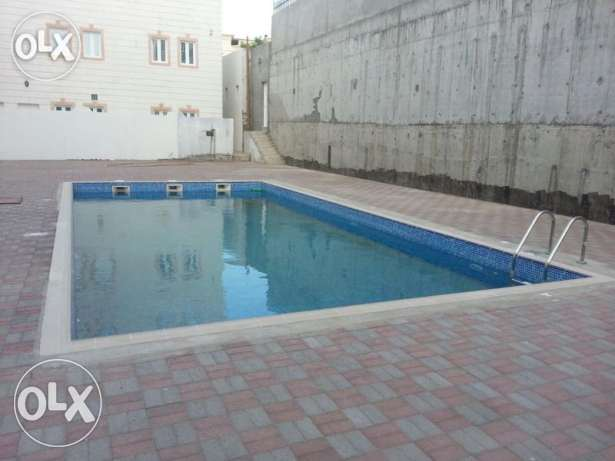 V.Brand New 5BHk+1Maid Villa For Rent In Bousher Muna With Pool بوشر -  6