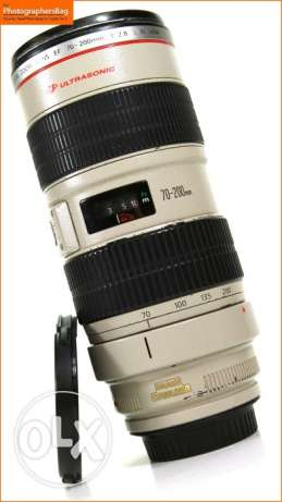 Canon EF 70-200mm F2.8L IS USM- Telephoto Lens