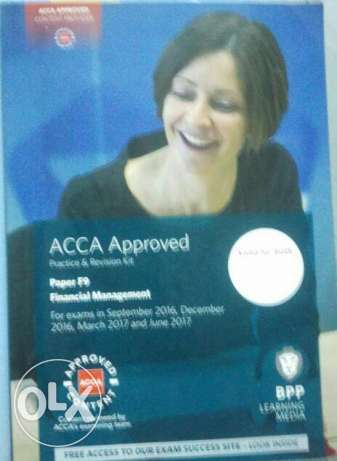 Acca F9 study text & revision kit