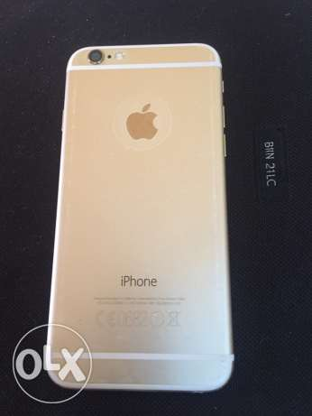 IPhone 6 gold 128 gb quick sale مسقط -  3