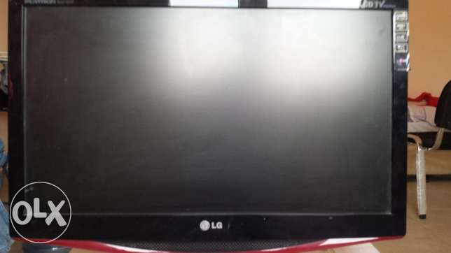 """LG LCD TV FULL HD 22"""" with satellite receiver and accessories"""